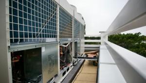 Balatonfüred: Wellness hotel klimatizálása MITSUBISHI City Multi VRV rendszerrel 51 beltéri egységgel