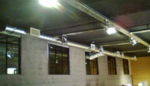 Kaposvár pinceklub: Szellőzés és klimatizálás kiépítése 5,2kW hűtőteljesítménnyel