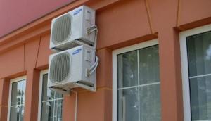 Nagyatád: Takarékszövetkezeti irodák klimatizálása