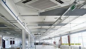 Nagykanizsa KANIZSATREND: 18db 14kW-os Samsung INVERTERES Kazettás monosplit telepítése, közösségi étkezők és szervertermek klimatizálása